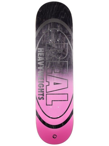 Deck Real - Heavyweights Black Bottom HW NEW !!