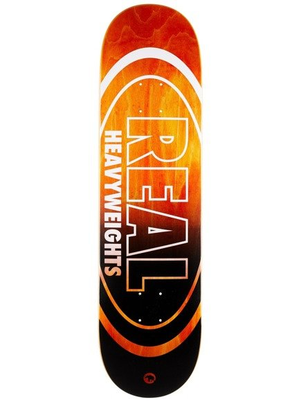 Deck Real - Heavyweights Orange Bottom HW NEW !!