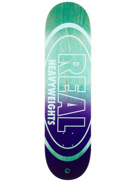 Deck Real - Heavyweights Pastel Green Bottom HW NEW !!
