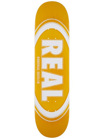 Deck Real - Oval Burst Fade Renewal Yellow