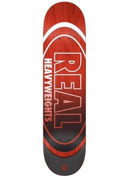 Deck Real - Team Heavyweights Red HW NEW !!