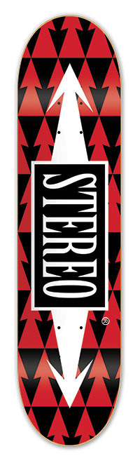 Deck Stereo - Arrows Pattern Red