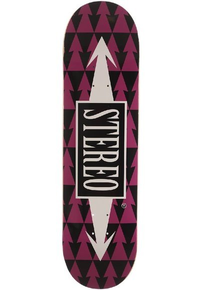 Deck Stereo - Arrows Pattern Violet