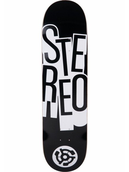 Deck Stereo - Stacked Black