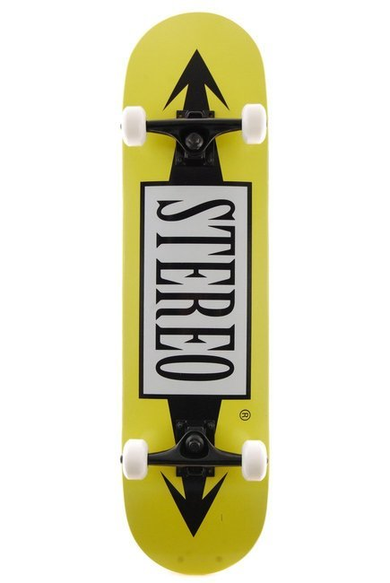 Deska kompletna Stereo Skateboards - Arrows yellow