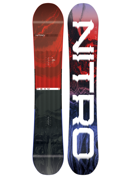 Deska snowboardowa Nitro - The Team Gullwing