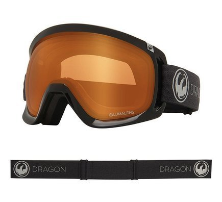 Gogle Dragon D3 -  Echo L.Photochromic Amber Lens