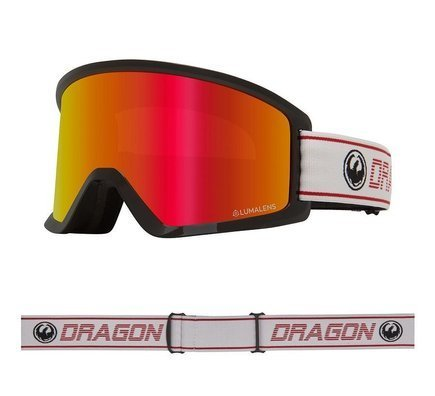 Gogle Dragon DX3 OTG - Bantam/L.Red Ion + L.Yellow Lens Free