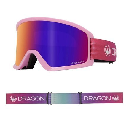 Gogle Dragon DX3 OTG - Candy/L.Purple Ion + L.Yellow Lens Free
