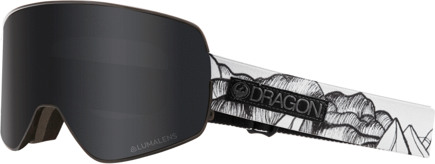 Gogle Dragon NFX2 - Chris Benchetler Signature - Dark Smoke + L.Red Ion Free Lens