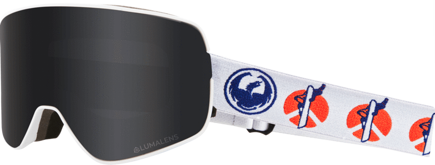 Gogle Dragon NFX2 - Danny Davis Signature - Dark Smoke + L.Rose Free Lens