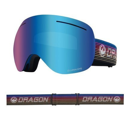 Gogle Dragon X1 -  Gamer /L.Blue Ion + L.Amber Lens Free