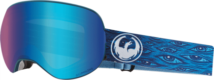 Gogle Dragon X2 - Midnight / L.Blue Ion + L.Amber Free Lens