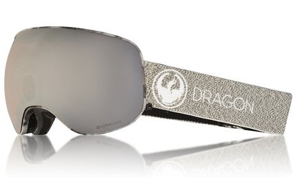 Gogle Dragon X2 - Mill Lumalens Silver Ion + Dark Smoke Free Lens