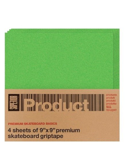 Griptape Superior - Green 4 Pk 9x9 Square