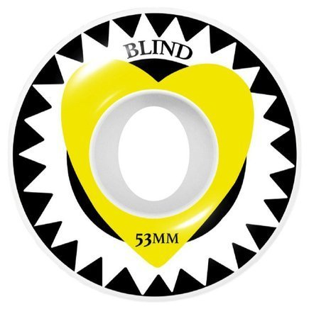 Kółka Blind - Heart Wheels yellow
