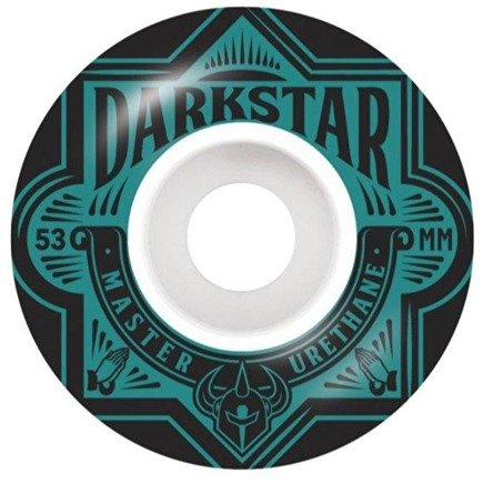 Kółka Darkstar -  Section Skateboard Wheels 53mm - Aqua