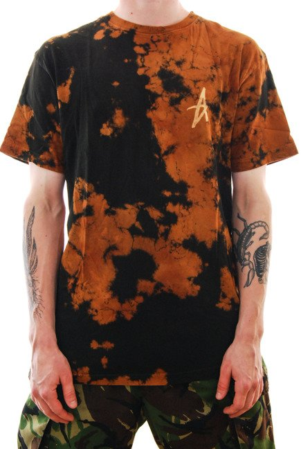 Koszulka Altamont - Dark Days black/orange