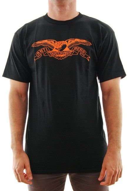 Koszulka Antihero - Basic Eagle black/orange