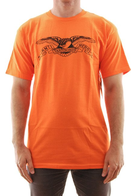 Koszulka Antihero - Basic Eagle orange/black