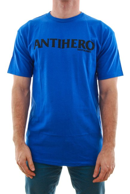 Koszulka Antihero - Black Hero Long Blue