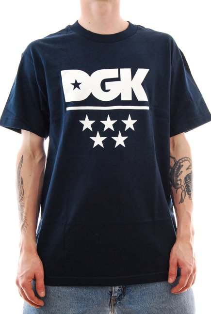 Koszulka DGK - All Star 3 navy