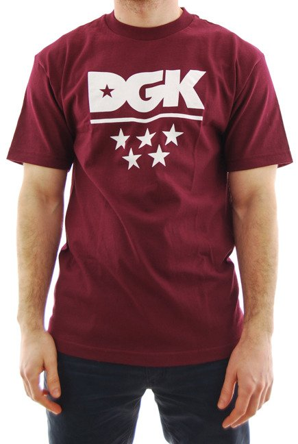 Koszulka DGK - All Star burgundy