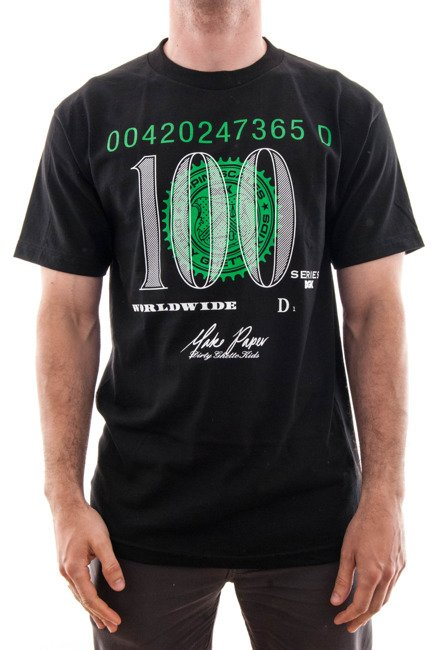 Koszulka DGK -  Currency S/S T-Shirt  Black