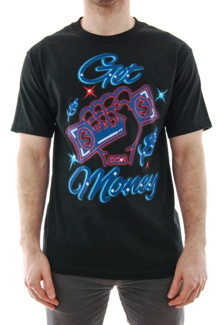 Koszulka DGK - Get Money Black