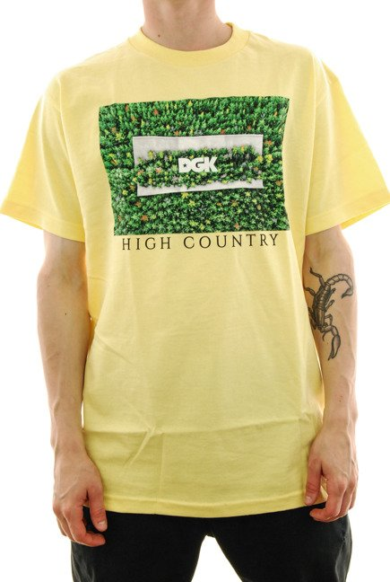 Koszulka DGK - High Country banana