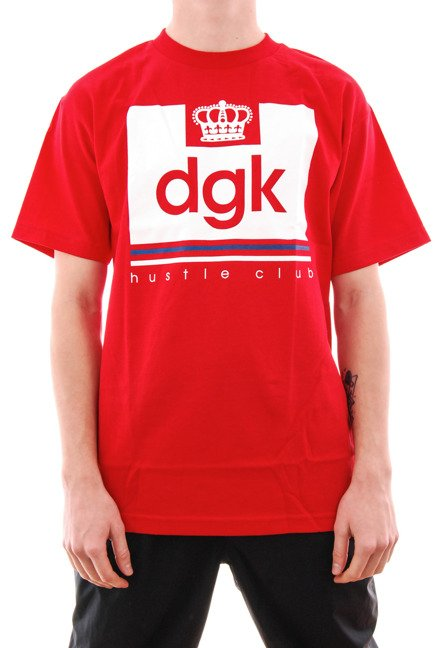 Koszulka DGK - Hustle Club red