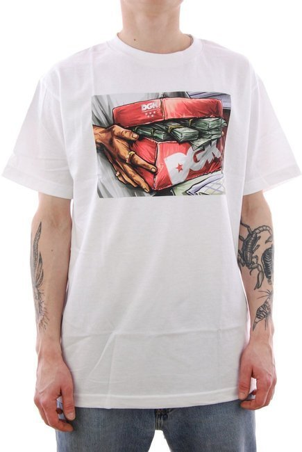 Koszulka DGK - Loaded white