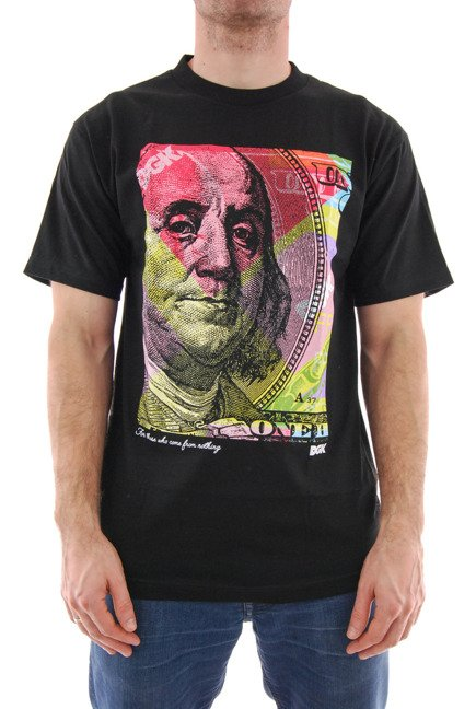 Koszulka DGK -  New Money Powder Black