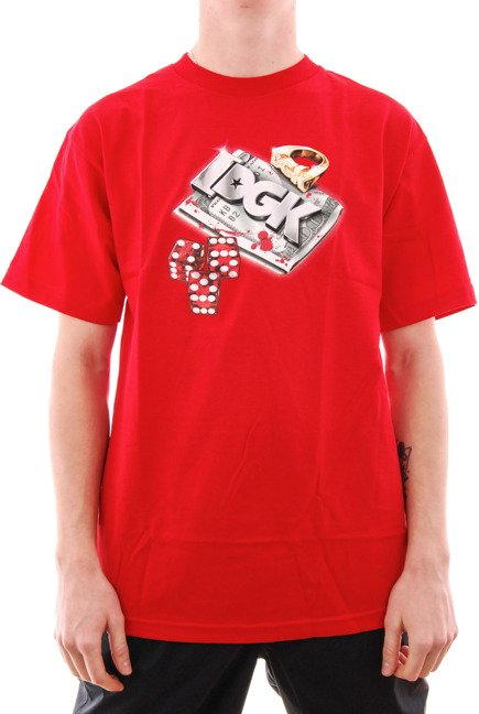 Koszulka DGK - Roll Out red