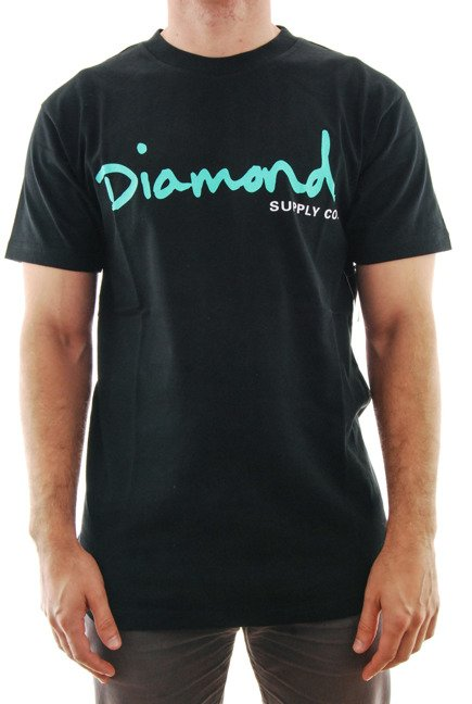 Koszulka Diamond Supply Co. - Og Script Black