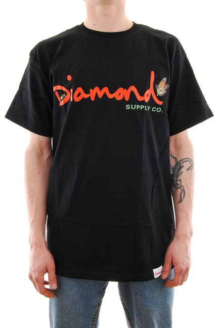 Koszulka Diamond Supply Co. - Paradise OG black
