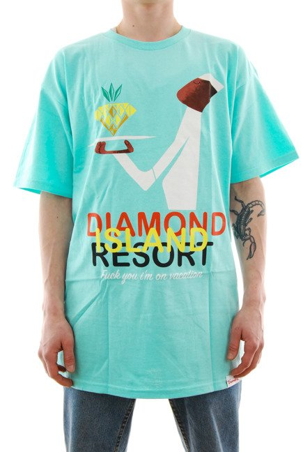 Koszulka Diamond Supply Co. - Resort diamond blue