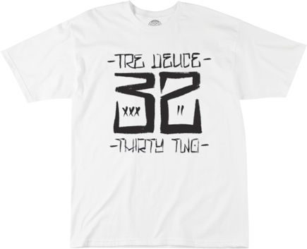 Koszulka Thirty Two - Tre Deuce White