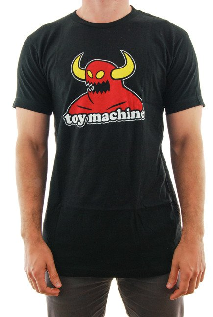 Koszulka Toy Machine - Monster black