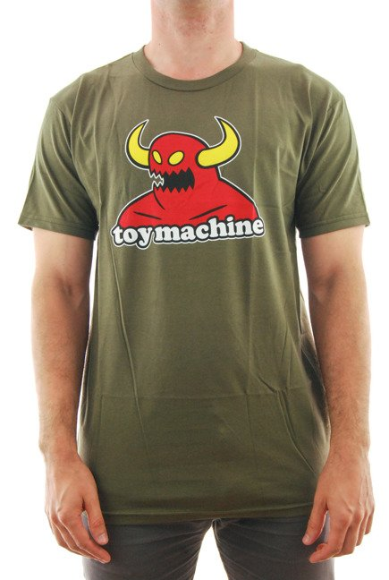 Koszulka Toy Machine - Monster green