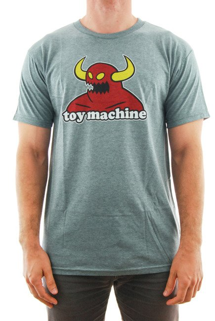 Koszulka Toy Machine - Monster heather