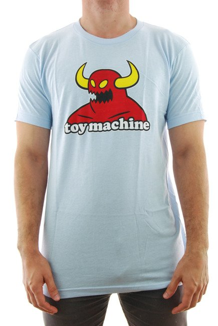 Koszulka Toy Machine - Monster light blue