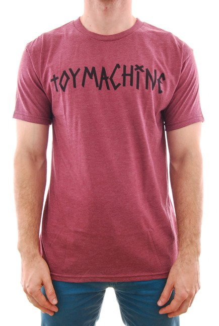 Koszulka Toy Machine - Tape Logo Burgundy