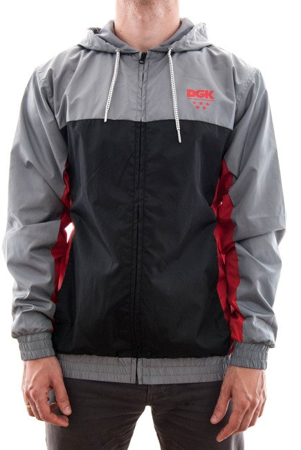Kurtka DGK -  Backspin Custom Zip Hood Grey