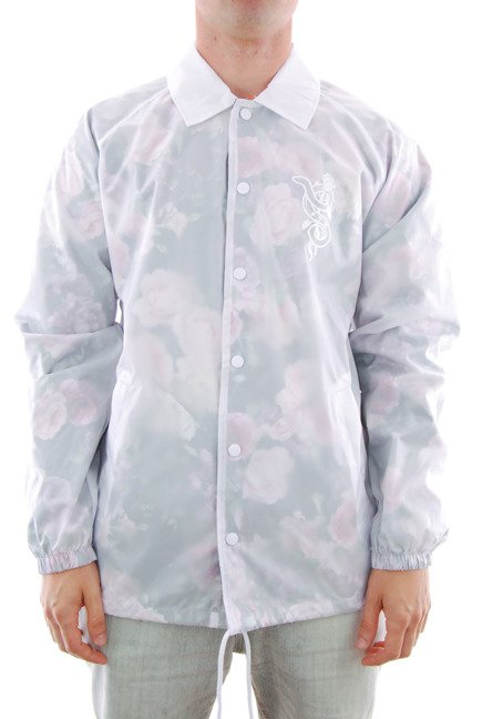 Kurtka Real - Bloom Windbreaker Transparent White