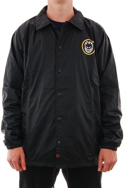 Kurtka Spitfire - Retro Classic Coaches Jacket Black