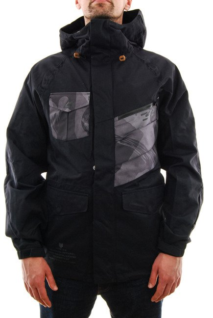 Kurtka snowboardowa ThirtyTwo - Surplus Black