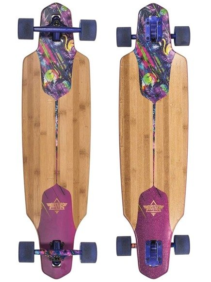 Longboard Dusters California -  Channel Tripycal Drop Through 38""