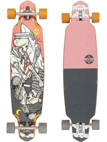 "Longboard Dusters California - Kentaro 38"" Grey/Pink"
