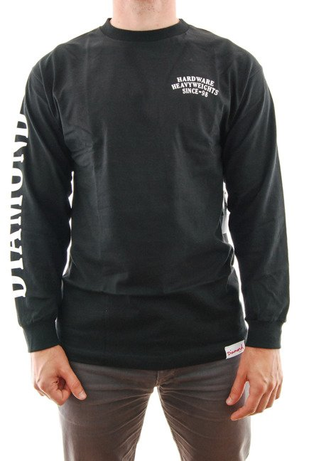 Longsleeve Diamond Supply Co. - Bulldogs Black